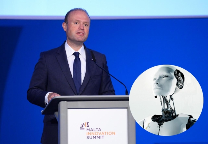 Speaking at the Malta Innovation Summit on Friday, Prime Minister Joseph Muscat said Malta was setting its sights on innovative economic sectors. (Photo: James Bianchi/MediaToday)