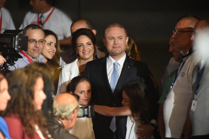 By keeping his beleaguered chief of staff by his side, Joseph Muscat proved that Keith Schembri (first left) was more important than any other consideration on good governance. But at the same time, Muscat and his wife Michelle were fighting another clamorous allegation which, at the time of going to print, had been left unverified by those who accused him