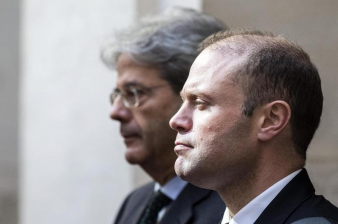 Joseph Muscat ended his six-country tour by meeting Italian Prime Minister Paolo Gentiloni