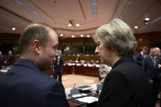 Muscat faces May: for a number of years the Conservative Party refused to support the PN's policy in favour of EU membership