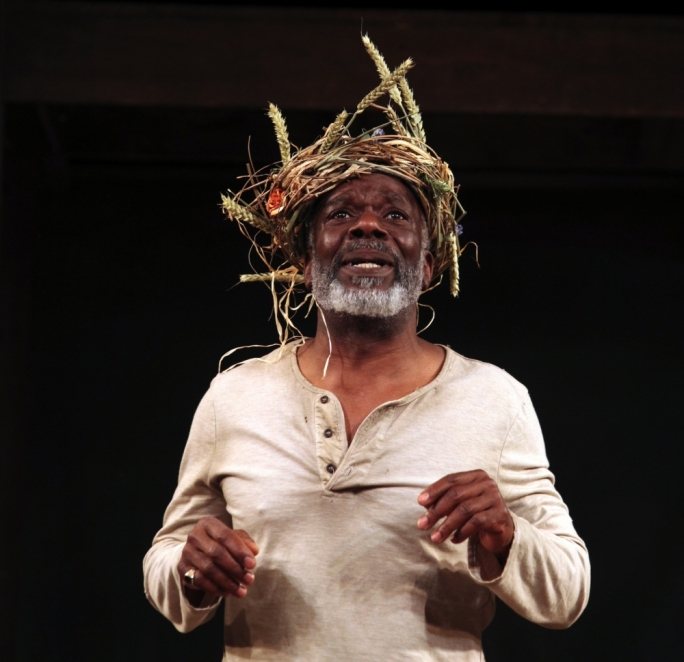 Joseph Marcell as King Lear – coming to Malta for July 16 and 17. Photography by Ellie Kurrtz