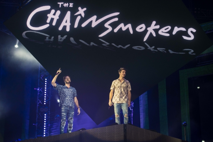 The Chainsmokers (Photos by James Bianchi/MediaToday)