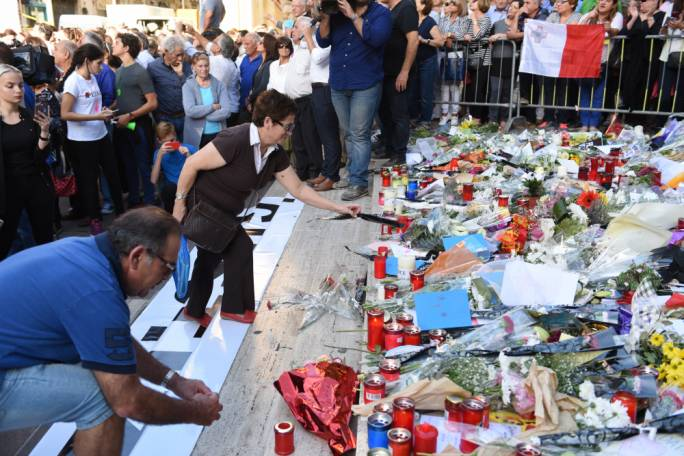 'A part of our collective peace of mind was also assassinated on Monday October 16'