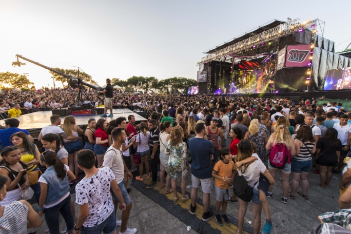 While this year's Isle of MTV remains free, entrance will only be allowed to those with a ticket