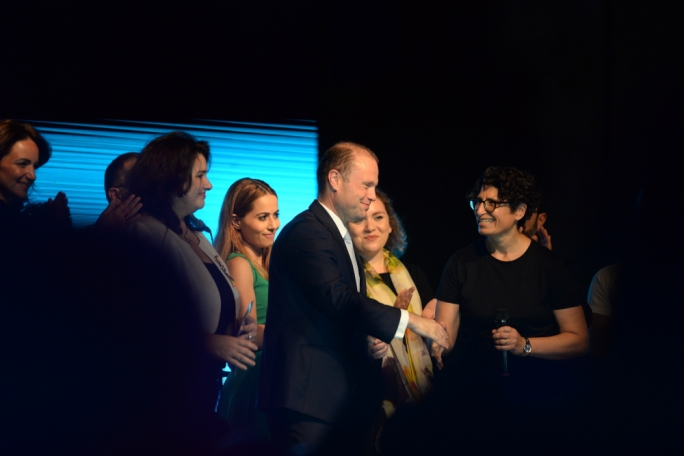 Centre-stage: Joseph Muscat and Helena Dalli sped up Malta's revolution on gay rights