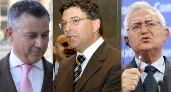 Jeffrey Pullicino Orlando, Jesmond Mugliett and John Dalli did not collect their voting documents