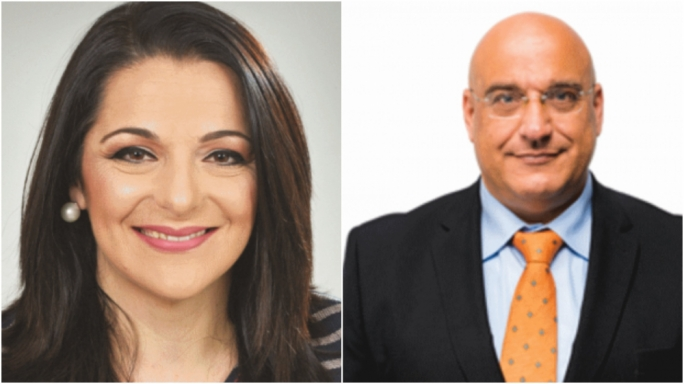 Two new faces; Julia Farrugia Portelli and Hermann Schiavone