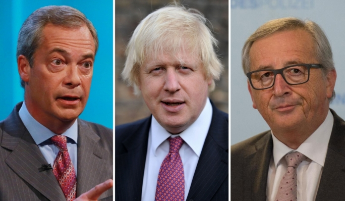 Brexit leaders Nigel Faraga and Boris Johnson, out; EC president Jean-Claude Juncker: can he propel the Union forward?
