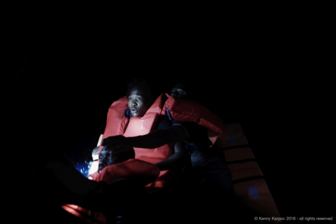 113 migrants were rescued by MOAS and the Italian Red Cross