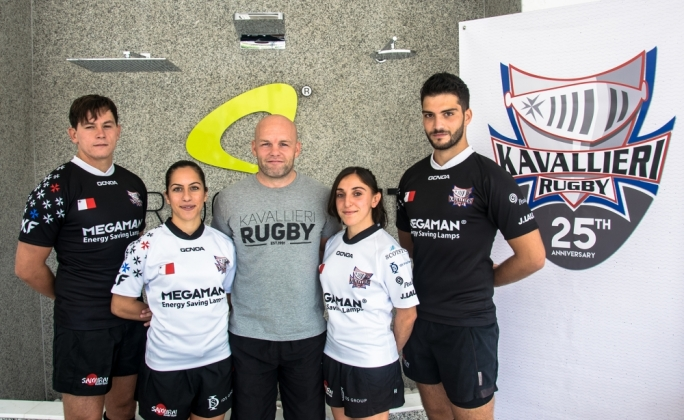 Kavallieri Rugby launch new kits. Photo by Chris Desira