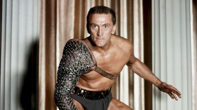 Douglas in the role of Spartacus in 1960. Photo: BRYNA/UNIVERSAL/REX/SHUTTERSTOCK