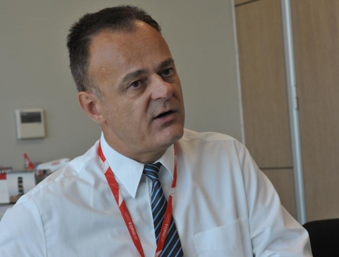 Air Malta CFO Klaus Gossler