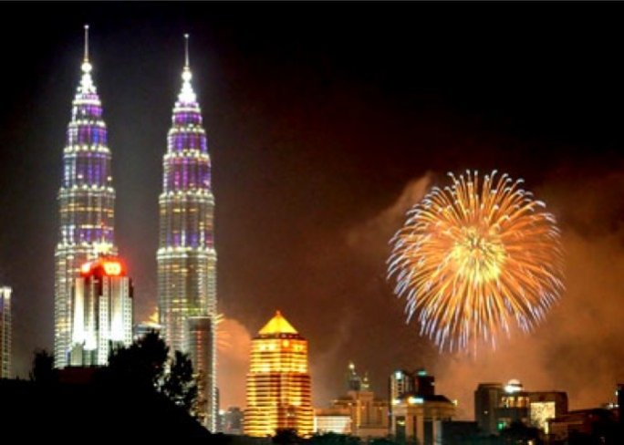 Once the tallest buildings in the world the Petronas Twin Towers today house the Petronas Company and a number of other offices