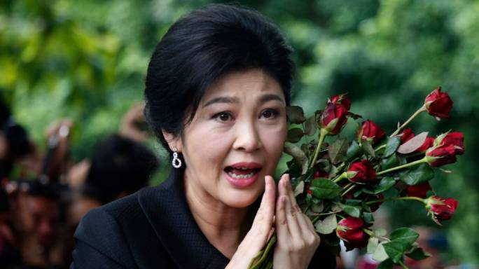 Thailand's fugitive former leader, Yingluck Shinawatra, is reportedly in London (Photo: Los Angeles Times)