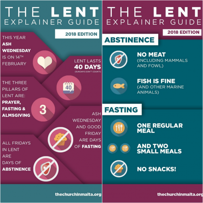 Ash Wednesday starts Lent, the preparation for Easter
