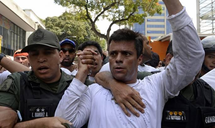 Venezuela opposition leader Leopoldo Lopez