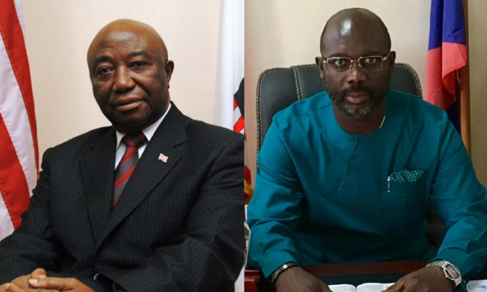 Image result for weaha and vice president of liberia
