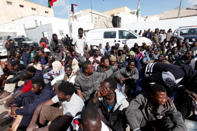The UN says that migrants held in Libya suffer widespread abuse