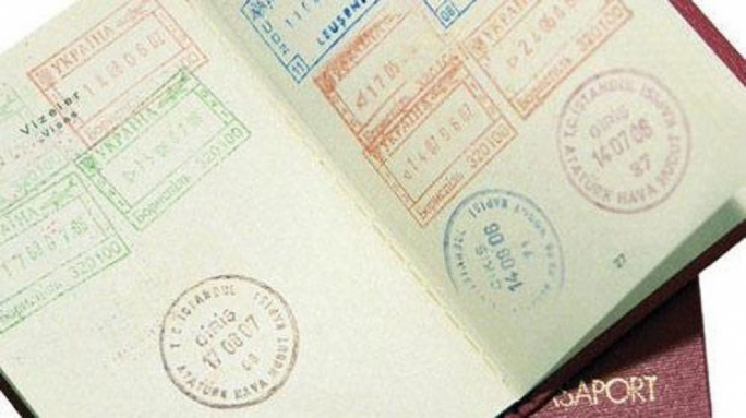 The man's actual Albanian passport was discovered in his checked-in luggage