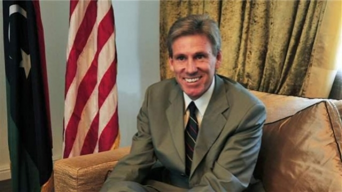 US ambassador Chris Stevens.