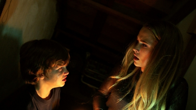 Gabriel Bateman and Teresa Palmer play beleaguered siblings in this domestic ghost story