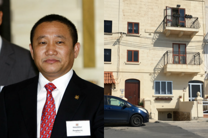 This two-storey Naxxar maisonette on Triq il-Forga is listed as the address of Chinese billionaire Liu Zhongtian, chairman of China Zhongwang Holdings, one of the country's biggest aluminium makers. He is worth $2.8 billion, but is this property worth €350K?