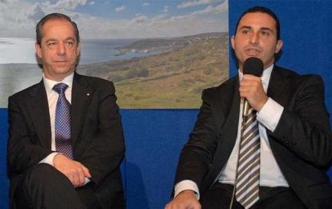 Don't get me down - Franco Debono (right) has declared he won't vote against Lawrence Gonzi's government.