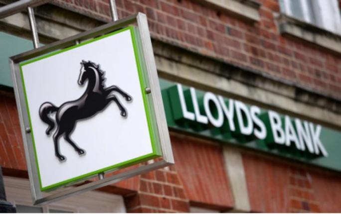 Lloyds Banking Group went against the norm and posted a rise of 1.37% during the session