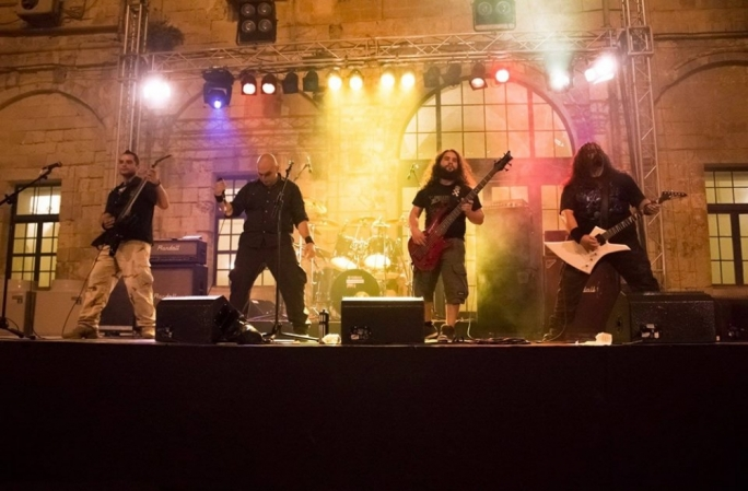 Angelcrypt perform at Notte Bianca in 2014