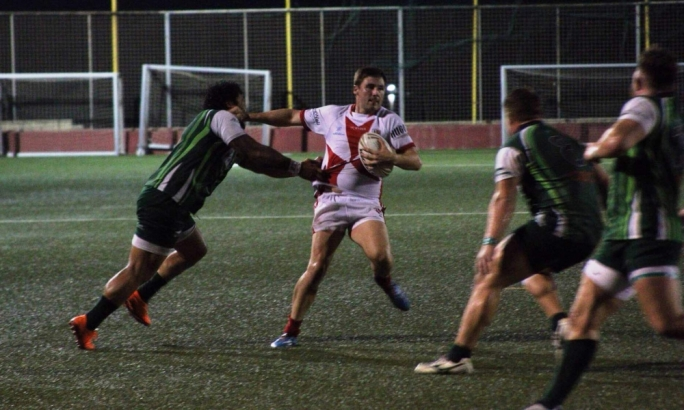 Malta's Andrew Muscat was in great form against Ireland. Photo by Andrew Mercieca