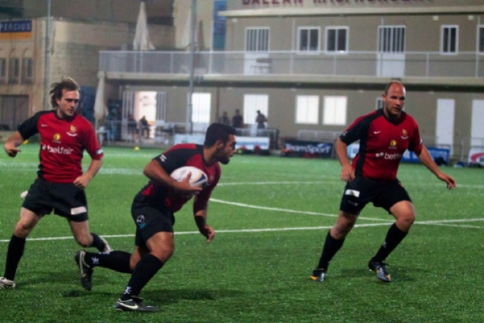 Stompers centre Matthew Camilleri scored four tries for the Sliema club