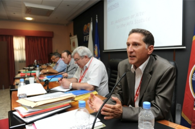 Mediterranean Conference Centre chairman Peter Fenech.