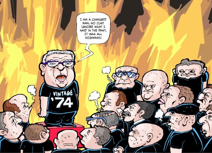 Cartoon by Mikiel Galea
