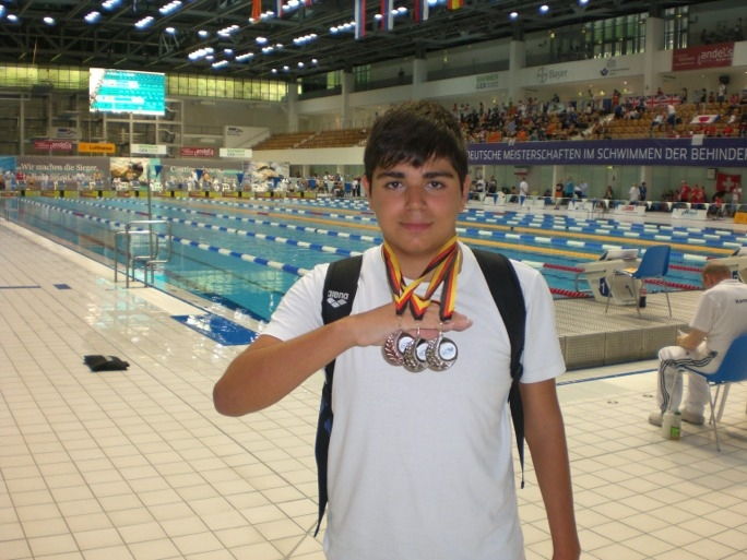 2012 paralympics qualifier Matthew Sultana