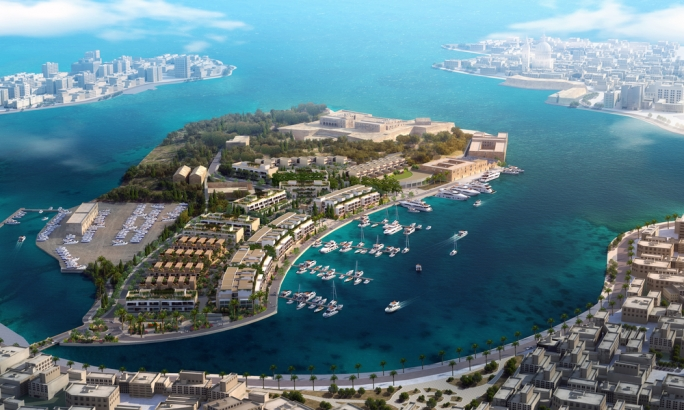 File photo shows a rendition of the Manoel Island project by architects Dowling Jones Stone