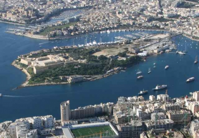 Manoel Island can be taken as a metaphor for an economic process taking place across the entire country
