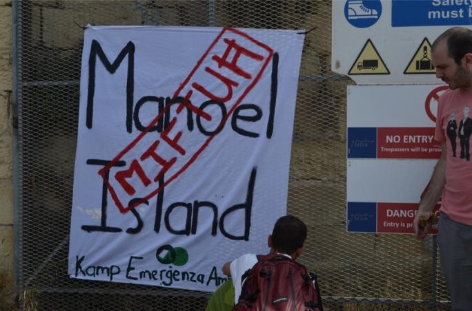Manoel Island, now open