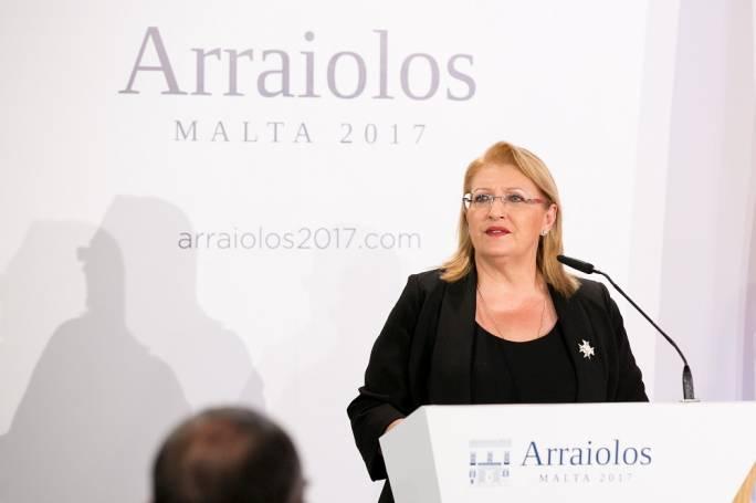 Marie-Louise Coleiro Preca launches 13th Arraiolos meeting