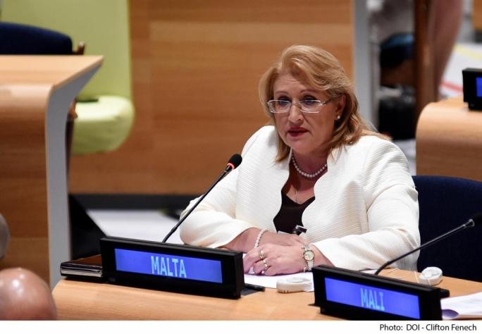 President Marie Louise Coleiro Preca