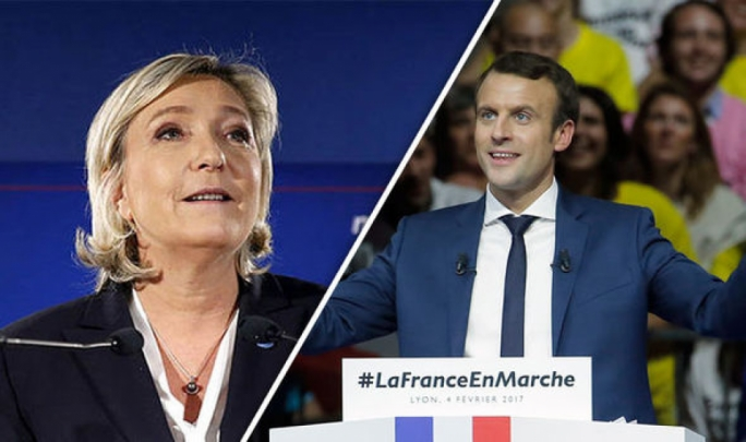 Emmanuel Macron and Marine Le Pen came out ahead of the other contenders in the French presidential election