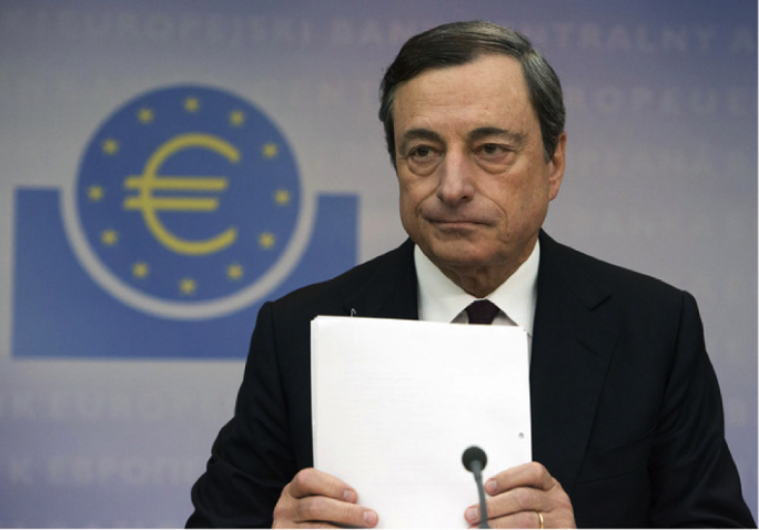 ECB chief Mario Draghi refuted claims that Eurozone inflation had turned a corner