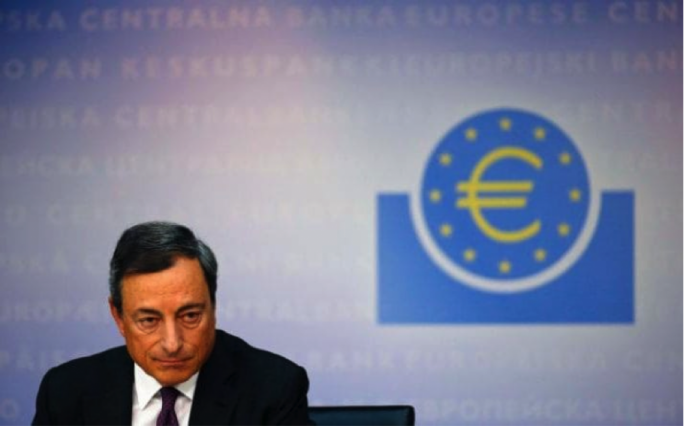 Mario Draghi vehemently denied any sort of taper
