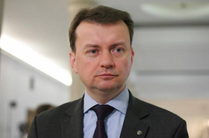 Polish interior minister Mariusz Blaszczak