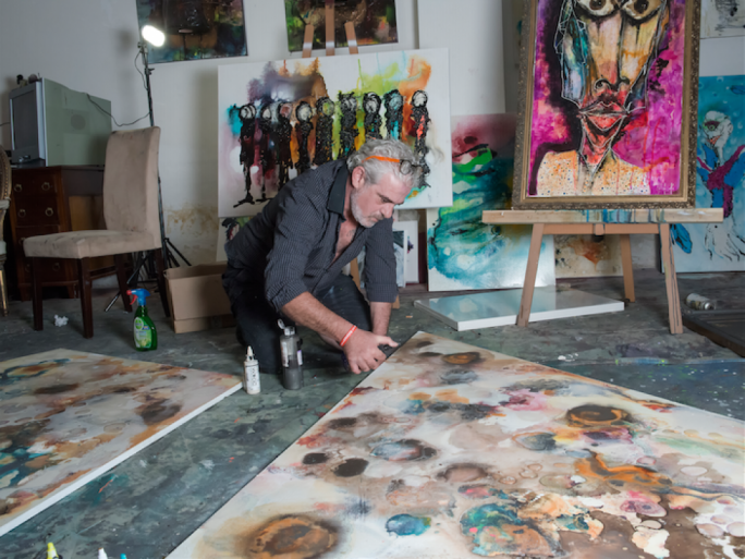 But is it art? Maltese artist Mark Mallia teaches AI system rudiments of painting