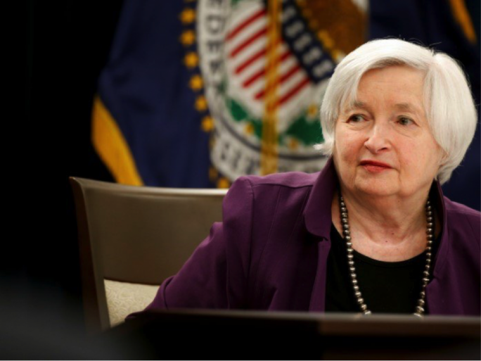 Yellen's statement with regards to interest rates diverted attention from the release of e-mails by Donald Trump Jr.