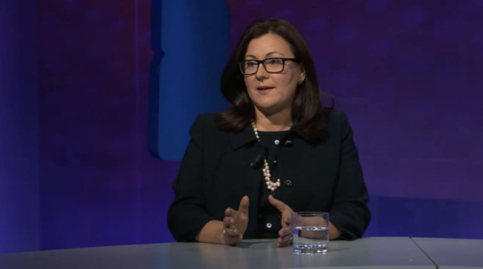 Marlene Farrugia said coalition talks with the PN were still ongoing