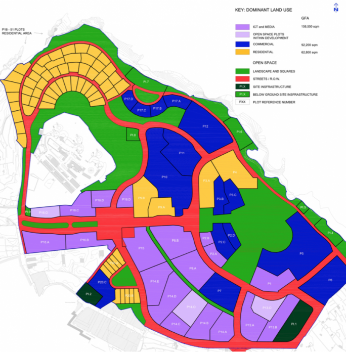 The original 2008 masterplan