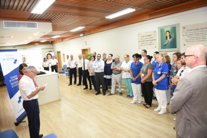 New reception area inaugurated at Karin Grech Hospital