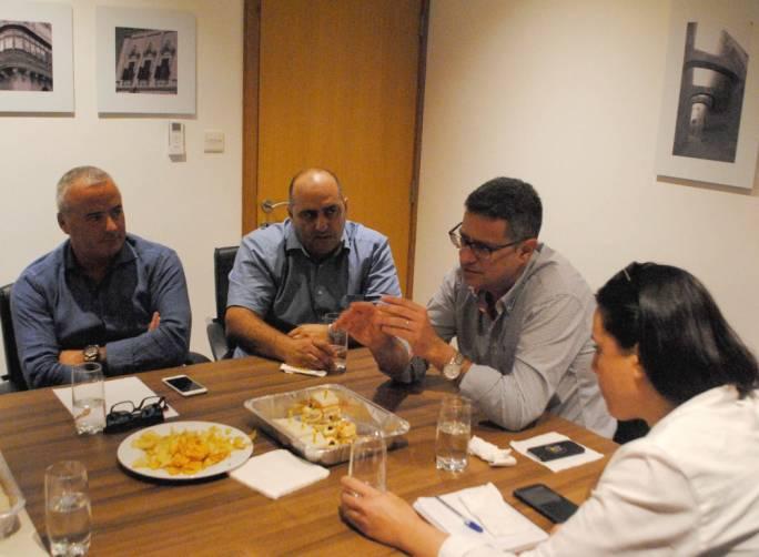 Adrian Delia meets MDA council
