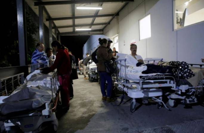 A magnitude 8.1 earthquake has struck off the coast of mexico leaving 5 dead and triggering a tsunami warning (Photo: REUTERS/Imelda Medina)